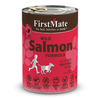 FirstMate Grain Free Wild Salmon Formula Canned Dog Food 12.5oz