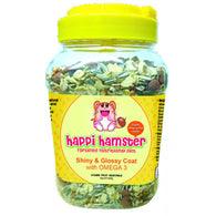 Happi Hamster Shiny & Glossy Coat Fortified Nutritional Diet 600g