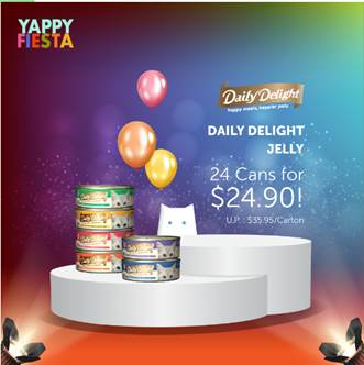 [YAPPY FIESTA] Daily Delight JELLY: 24cans for $24.90!