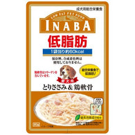 Inaba Chicken Fillet & Cartilage in Jelly Pouch Dog Food 80g