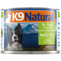 K9 Natural Lamb Green Tripe Canned Dog Food 170g
