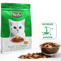 Kit Cat Fillet 'O' Flakes Dry Cat Food 1.2kg