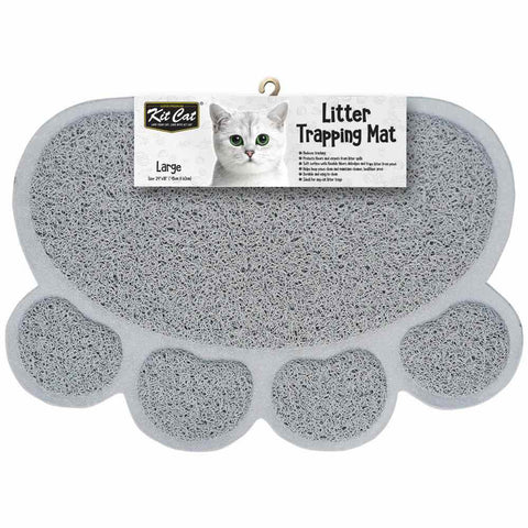 Kit Cat Litter Trapping Mat (Light Grey)
