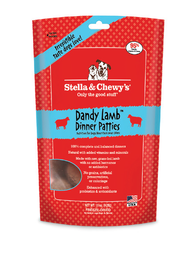 Stella & Chewy's Dandy Lamb Dinner Patties Freeze-Dried Dog Food