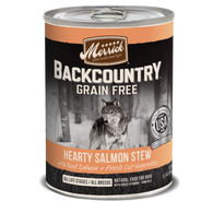 Merrick Backcountry Grain-Free Hearty Salmon Stew Canned Dog Food 360g