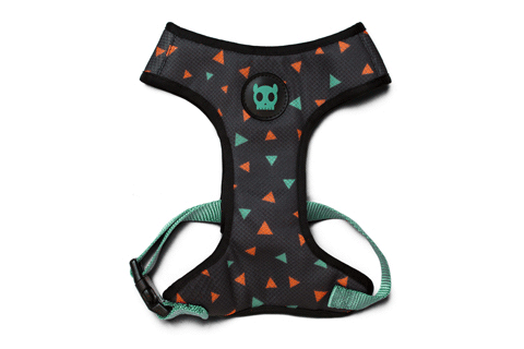 Zee Dog Triangles Mesh Plus Dog Harness