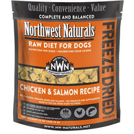 (Promo) Northwest Naturals Chicken & Salmon Freeze Dried Raw Diet For Dogs 12oz