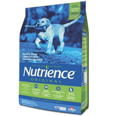 Nutrience Original Healthy Puppy Chicken Meal With Brown Rice Recipe Dry Dog Food