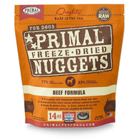 Primal Freeze Dried Canine Beef Nuggets