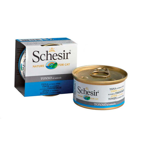 Schesir Tuna in Water Canned Cat Food 85g (Carton of 14)