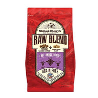 Stella & Chewy's Freeze-Dried Raw Blend Kibble Free Range Lamb Dry Dog Food