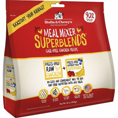 Stella & Chewy's Meal Mixer Superblends Chicken Freeze-Dried Dog Food