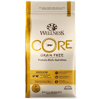 Wellness CORE Indoor Deboned Chicken, Turkey & Chicken Meals Dry Cat Food