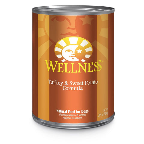 Wellness Complete Health Turkey & Sweet Potato Canned Dog Food 354g