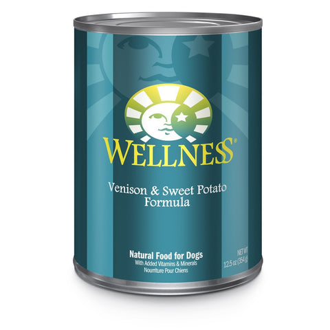 Wellness Complete Health Venison & Sweet Potato Canned Dog Food 354g