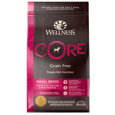 Wellness CORE Grain-Free Small Breed Formula Dry Dog Food