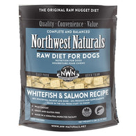 Northwest Naturals Whitefish and Salmon Freeze Dried Raw Diet For Dogs 12oz