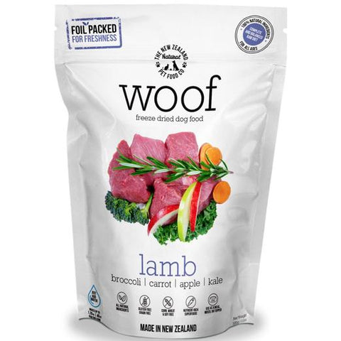WOOF Lamb Freeze Dried Raw Dog Food