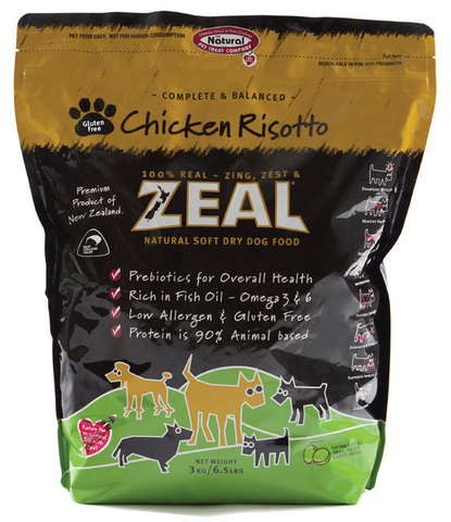 Zeal Chicken Risotto Soft Dry Dog Food (3kg)
