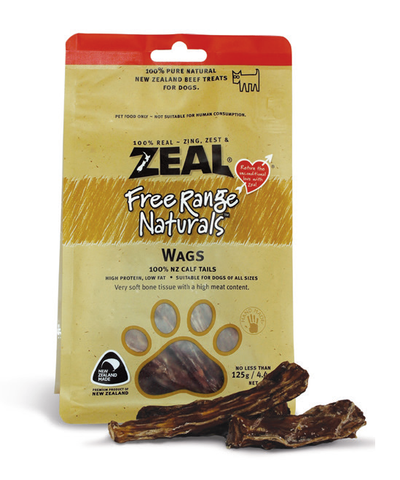 Zeal Free Range Naturals Wags Dog Treats (125g)