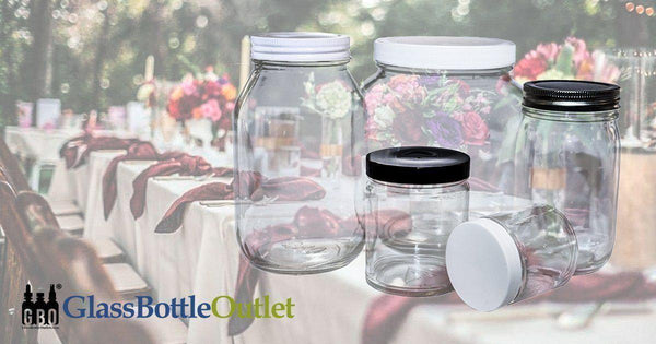 Using Glass Jars At Your Next Event-Glass Bottle Outlet