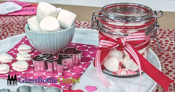 Glass Jar Ideas for Valentine's Day-Glass Bottle Outlet
