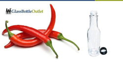 Find the Best Hot Sauce Bottles At Glass Bottle Outlet-Glass Bottle Outlet