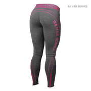 Better Bodies Shaped Logo Tights - Pink