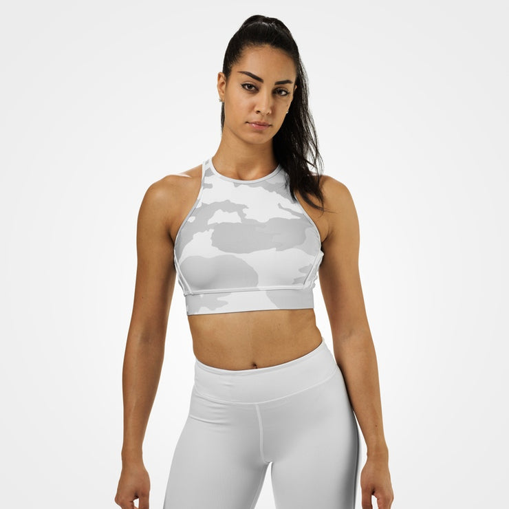 Better Bodies Chelsea Halter - White Camo