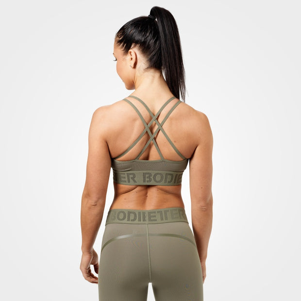 Better Bodies Astoria Sports Bra - Wash Green