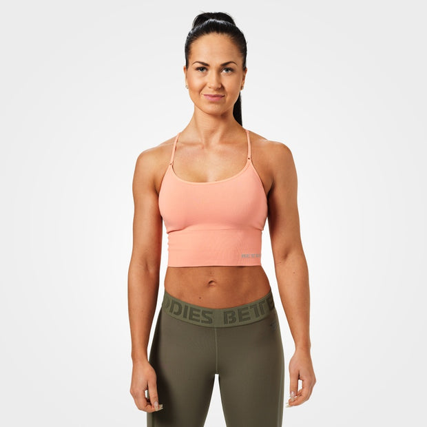 Better Bodies Astoria Seamless Bra - Peach