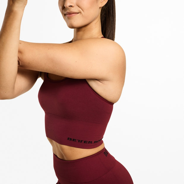 Better Bodies Astoria Seamless Bra - Sangria Red