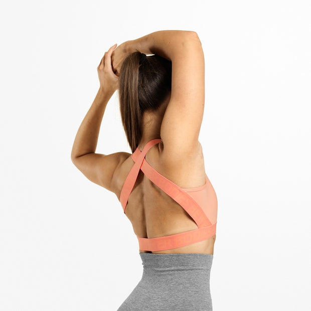 Better Bodies Waverly Elastic Bra - Peach