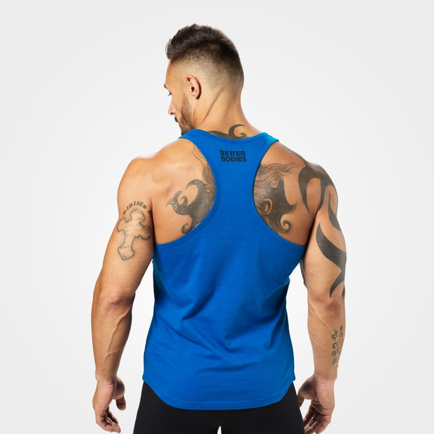Better Bodies Essential T-Back - Strong Blue