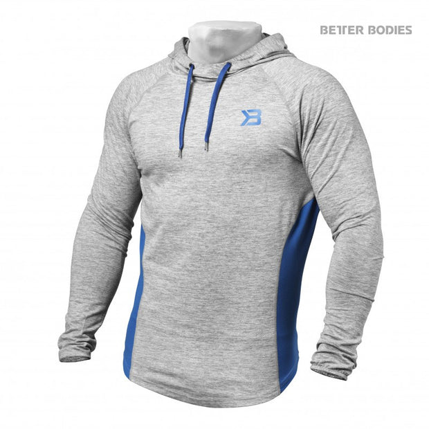 25% OFF Better Bodies Performance Mid Hood - Grey Melange CLEARANCE - FINAL SALE