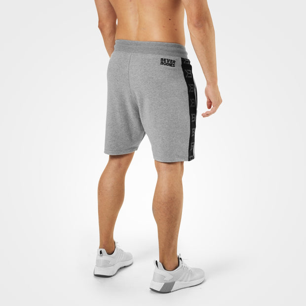 Better Bodies Stanton Sweat Shorts - Grey Melange