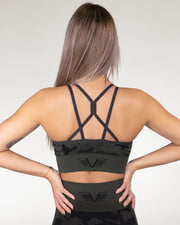 Gavelo Seamless Sports Bra - Camo