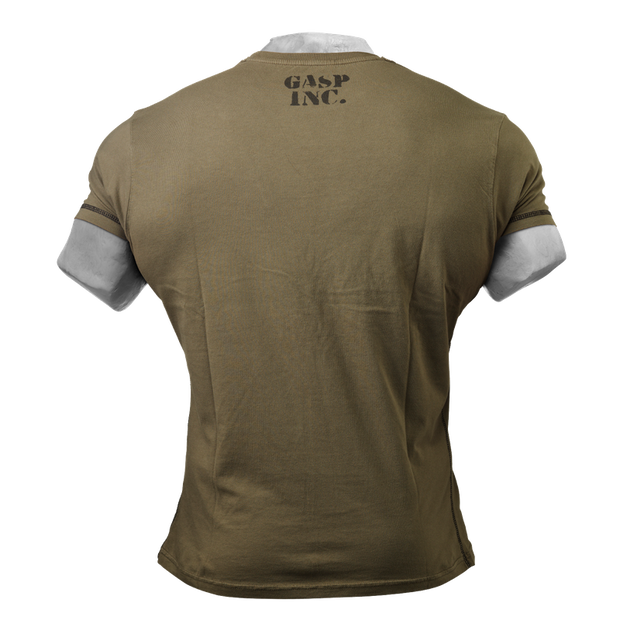 GASP Basic Utility Tee - Wash Green