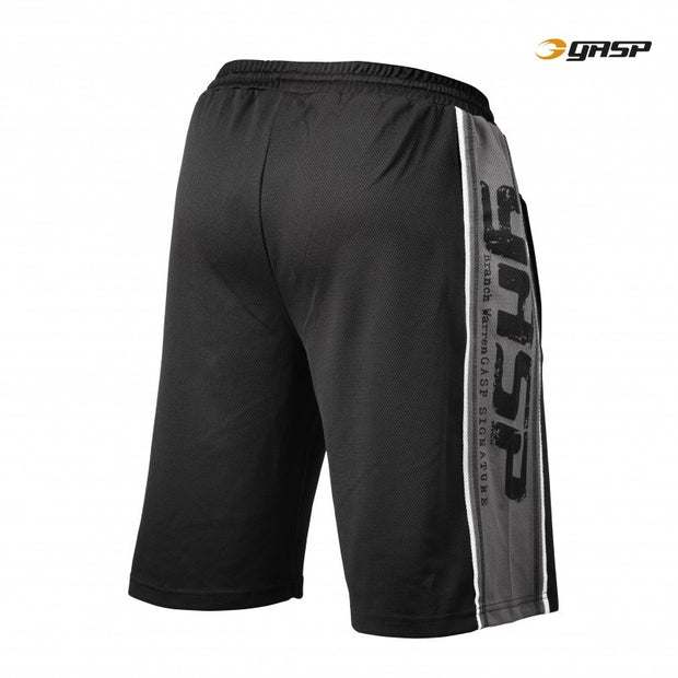 GASP Raw Mesh Shorts