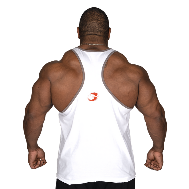 GASP Vintage T-Back - White