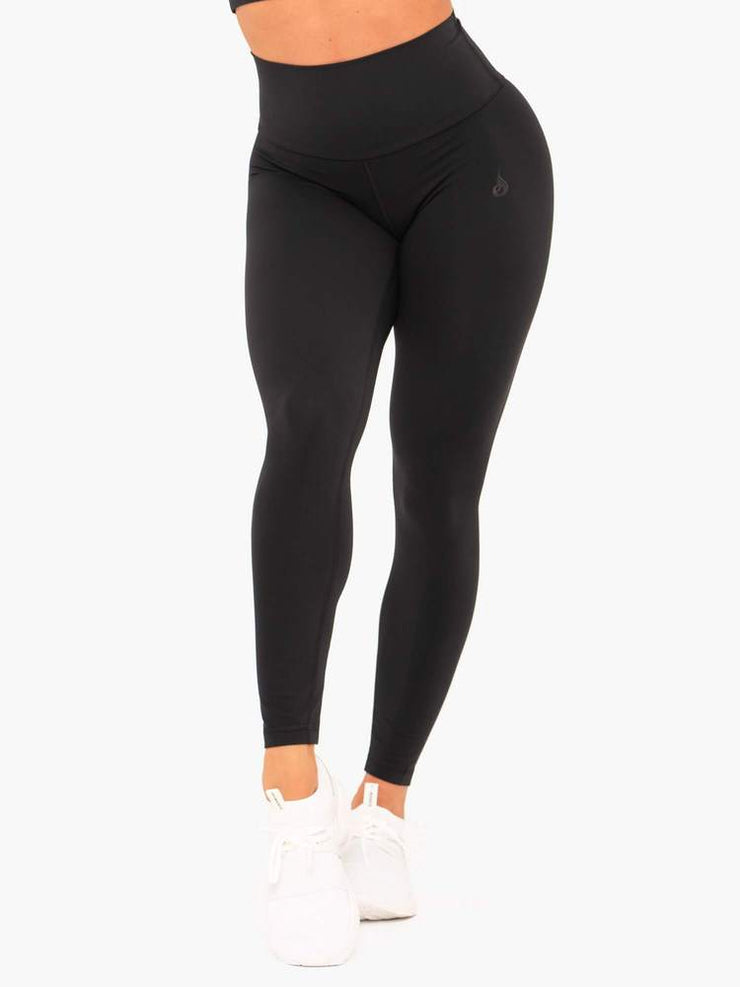Ryderwear NKD High Waisted Leggings - Black