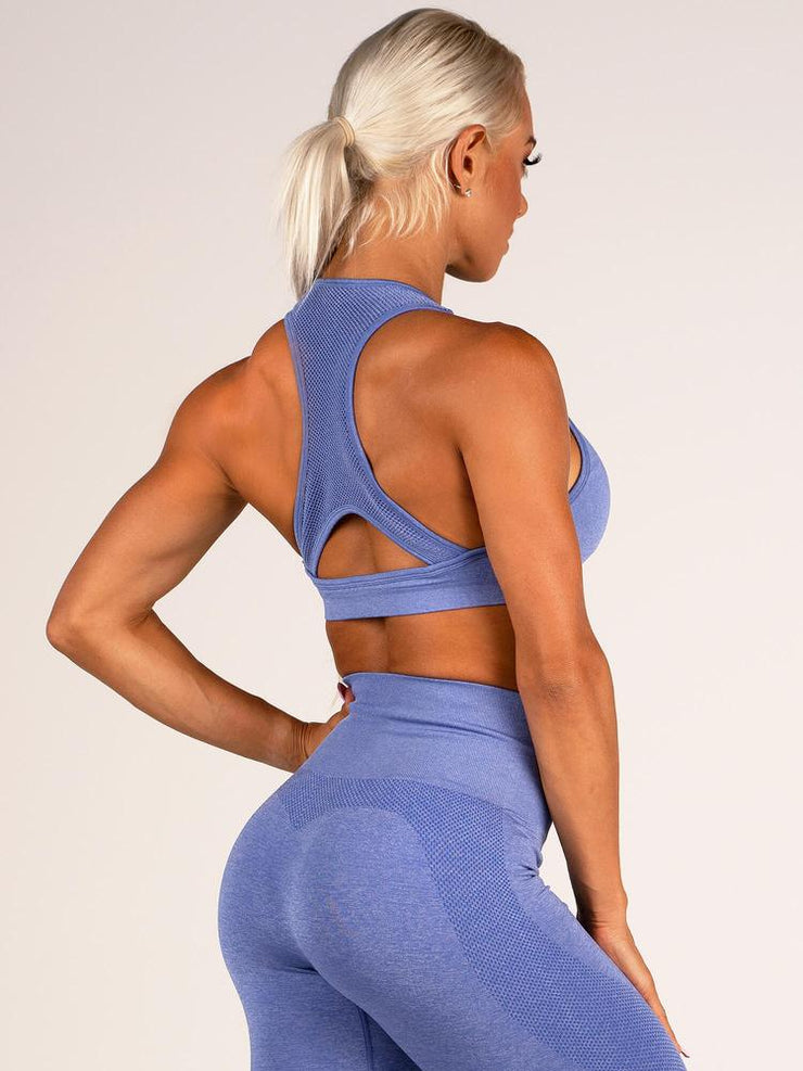 Ryderwear Seamless Sports Bra - Cobalt Blue