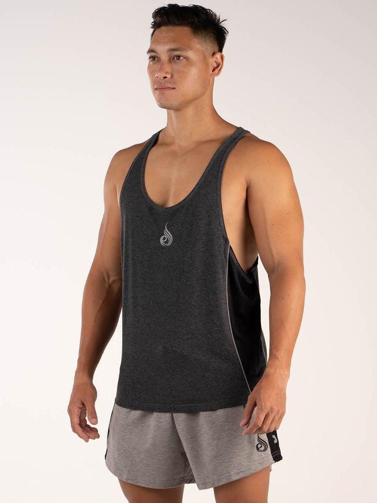 ff51534b19155 Ryderwear BSX Stringer T-Back - Black Marle – Gym Culture