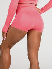 Ryderwear Seamless Shorts - Coral Marl