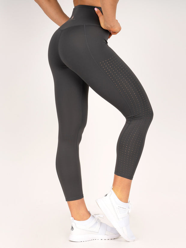 Ryderwear Flex 7/8 Leggings - Charcoal