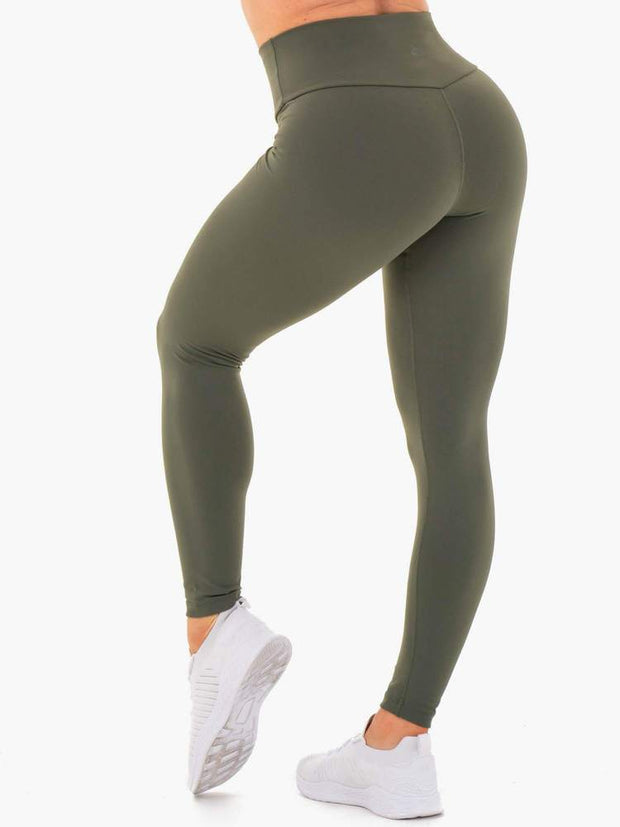 Ryderwear Motion High Waisted Leggings - Khaki