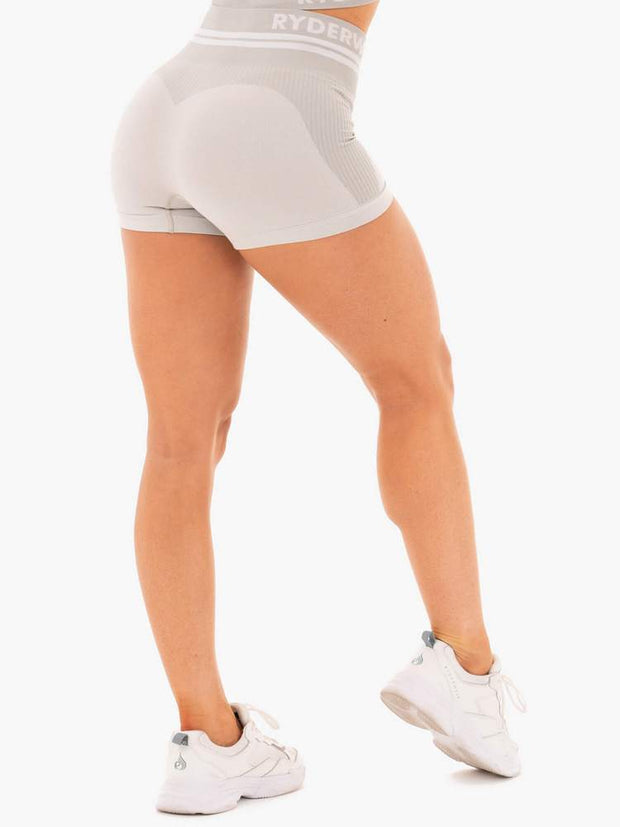Ryderwear Freestyle Seamless High Waisted Shorts - Grey