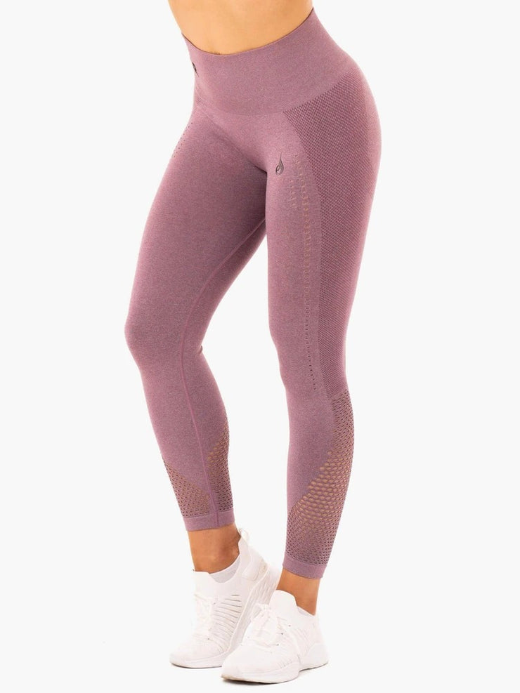 Ryderwear Seamless Staples Leggings - Purple Marl