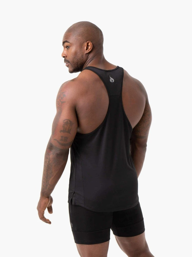 Ryderwear Energy Mesh T-Back - Black