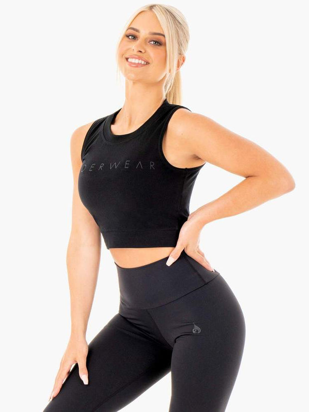 Ryderwear Motion Crop Top - Black